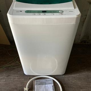 0814-203 美品!4.5kg 洗濯機 ヤマダ電機 2…