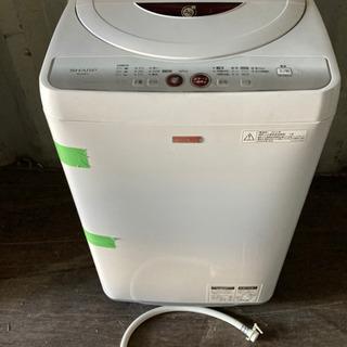 0814-204 5.5kg SHARP 洗濯機 2012…