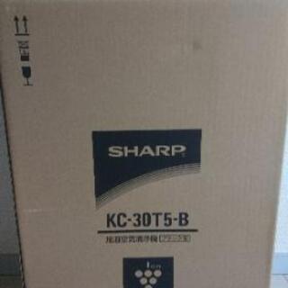 【売ります】加湿空気清浄機:SHARP KC-30T5-B プラ...
