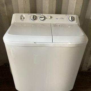 0814-206 2槽式洗濯機 5.5kg Haier 2016...