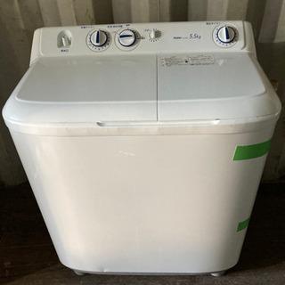0814-207 2槽式洗濯機 5.5kg Haier 2016...