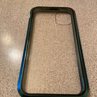 iPhone11用ガラスケース