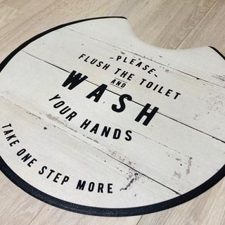 さらっと拭けるトイレマット 新品