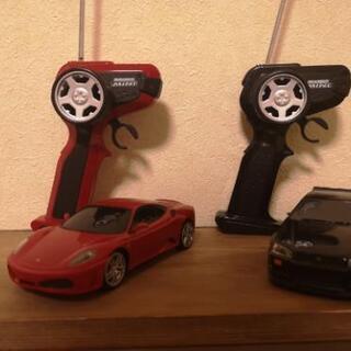 商談中【ジャンク】 ラジコン F430 & R34 GTR