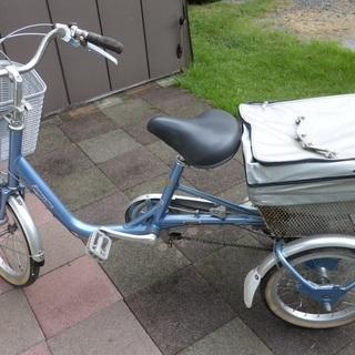 【受付終了】三輪自転車 3段ギア スイング式