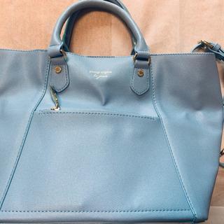 passage mignon 水色 2way バッグ 鞄