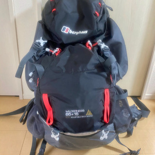 【ブランド・バーグハウス】登山用バックパック【80ℓ】