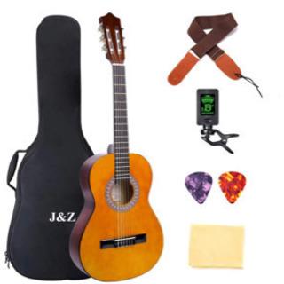 クラシック ギター アコースティック ギター 39インチ 4/4...