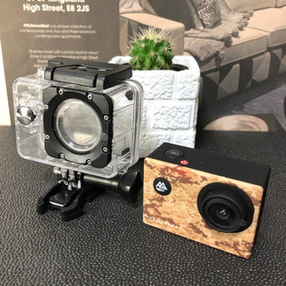 多分未使用 防水 アクティブギア フル HD カメラ デザート ...
