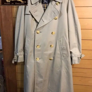Burberrys long trench coat(liner...
