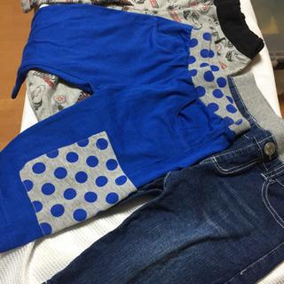 120 男の子 夏服 ハーフパンツ 3枚セット 半ズボン