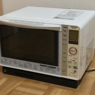 加熱水蒸気オーブンレンジ 14年製 日立MRO-MS7 ホワイト