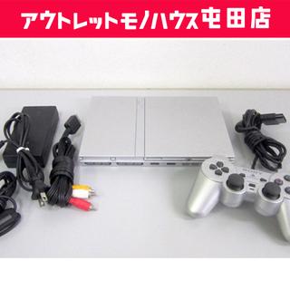 PS2 本体 SCPH-77000 シルバー 薄型 プレイステー...
