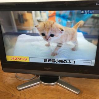 シャープ液晶テレビ26V型