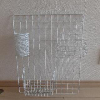 ワイヤー 壁面収納 小物収納 すきま収納