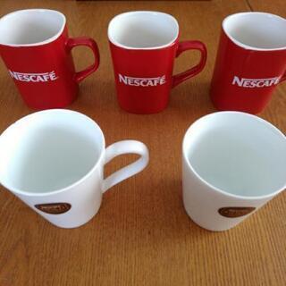 ネスカフェ☆マグカップ5個まとめてお譲りします。