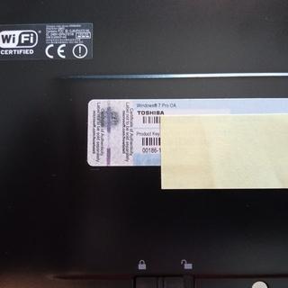 【他サイトにて契約済】【HDDなし】Core i3/6GB 東芝 R730/B - パソコン