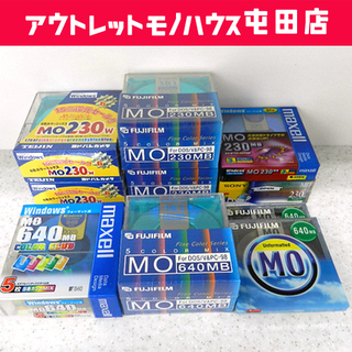 新品保管品 新品保管品 各社 MO ディスク 230MB/30枚...