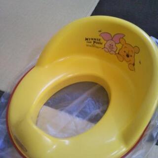 ベビー補助便座 プーさん ピグレット トイレトレーニング 練習 ...