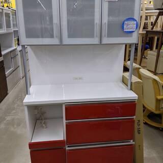シギヤマ家具 3面食器棚(カップボード) 糸島福岡唐津 0815-04