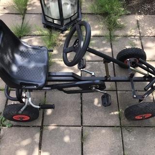 四輪自転車 ゴーカート風 ペダルカー レストアベース