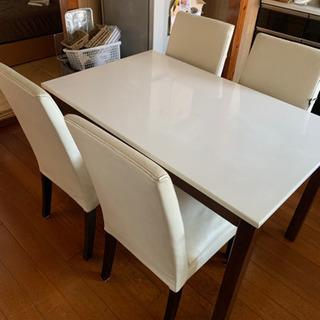 再投稿、4人掛け食卓テーブル
