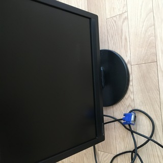 20インチ モニター D-sub15ピン VGA 無料です。