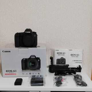 Canon EOS 6D ボディ バッテリーグリップ ※レンズは...