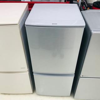 15年製 SHARP 2ドア 冷蔵庫 SJ-D14A-S