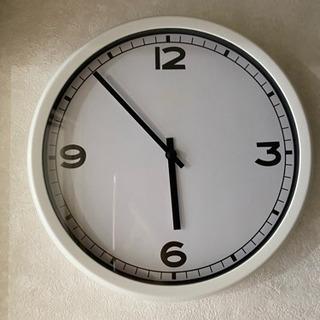 【お取引中】IKEA イケア 掛け時計 壁掛け