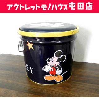 ディズニー ミッキーマウス 缶バケツ バケツスツール 収納バケツ...