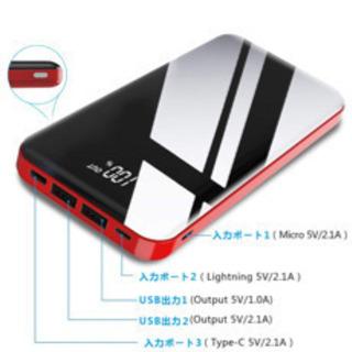 26800mAhモバイルバッテリー大容量【PSE確認済】