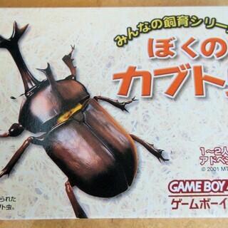 ☆ゲームボーイアドバンス GBA/ぼくのカブト虫◆みんなの飼育シ...