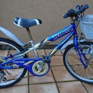 22インチ  自転車  Spalding