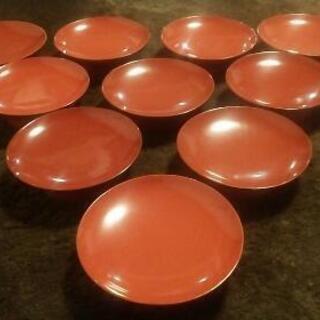 漆器 茶碗 お盆 重箱 古いものお譲りください