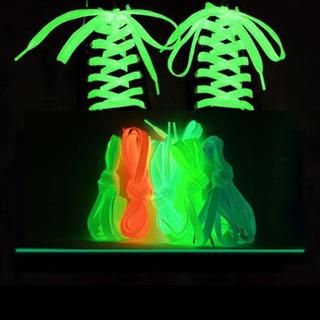 蓄光靴紐(グリーン)