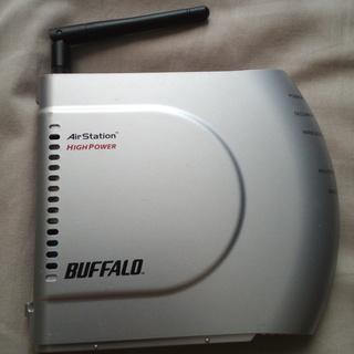 旧型無線ルーター buffalo WHR-HP-G