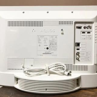 美品【SHARP AQUOS】シャープアクオス スピーカー内蔵24型液晶テレビ - 家電