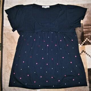 リボン付きのカットソー、Tシャツ