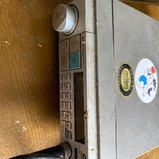 20〜30年前の無線機(ジャンク)