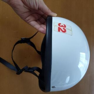 白ヘルメット 32番サイズ