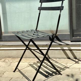 イス 椅子 ガーデンチェア フォールディングチェア カフェチェア...