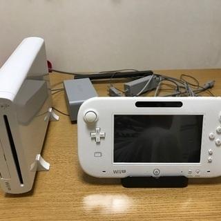 WiiU + Wiiリモコン、ヌンチャク+ ゲームソフト