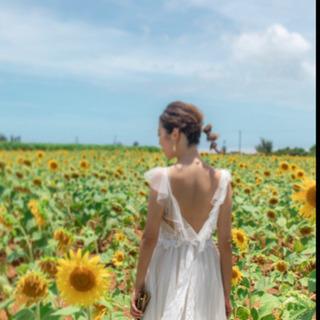 【値下げしました】ウェディングドレス 二次会 前撮り リゾート婚