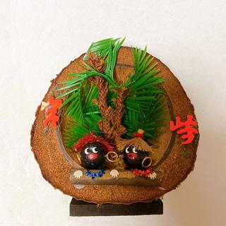 宮崎のお土産 ポリネシアン風の置物