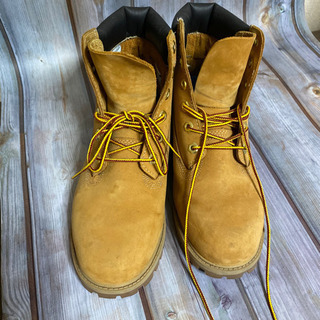 【値下げ】ティンバーランドのブーツ39サイズ(24cm)