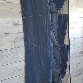 デニム 吊り下げ バッグ収納 取外し可能 バッグ 収納ハンギングバッグ ワードローブハンギングタイプ 収納ラック かばん 鞄 クローゼットの画像