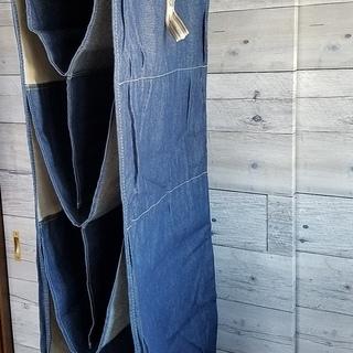 デニム 吊り下げ バッグ収納 取外し可能 バッグ 収納ハンギングバッグ ワードローブハンギングタイプ 収納ラック かばん 鞄 クローゼット - 鎌ケ谷市