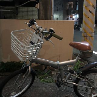 お値下げ!折りたたみ自転車