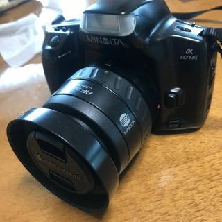Minolta alpha 101si フィルムカメラ